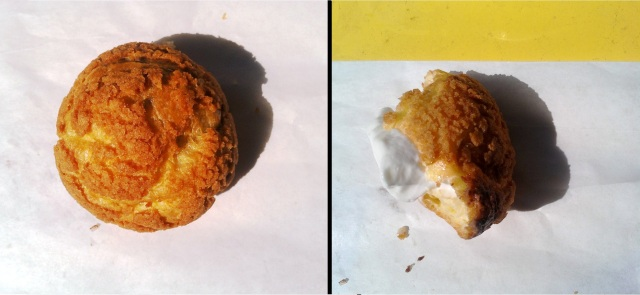 Made-to-order Crumble & Flake Cream Puffs