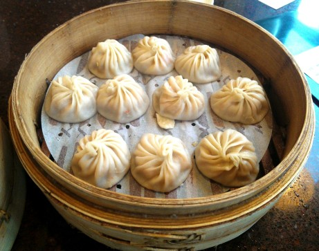 Dumplings from Din Tai Fung in Bellevue