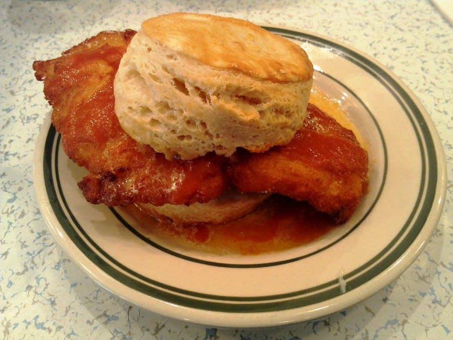 Chicken biscuit from Pies N Thighs